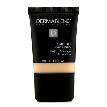 Dermablend Smooth Liquid Camo Foundation (Medium Coverage) - Linen 30ml/1oz