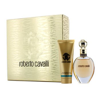 Roberto CavalliRoberto Cavalli (New) Coffret: Eau De Parfum Spray 50ml/1.7oz + Body Lotion 75ml/2.5oz (Gold Box) 2pcs