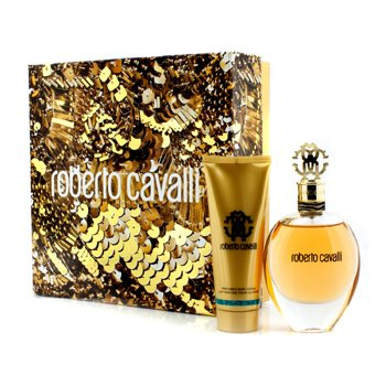 Roberto Cavalli Roberto Cavalli (New) Coffret: Eau De Parfum Spray 75ml/2.5oz + Body Lotion 75ml/2.5oz 2pcs