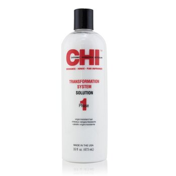 CHI Transformation System Phase 1 - Solution Formula A (For Resistant/Virgin Hair)  473ml/16oz