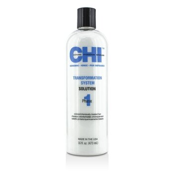 CHITransformation System Phase 1 - Solution Formula B (For Colored/Chemically Treated Hair) 473ml/16oz