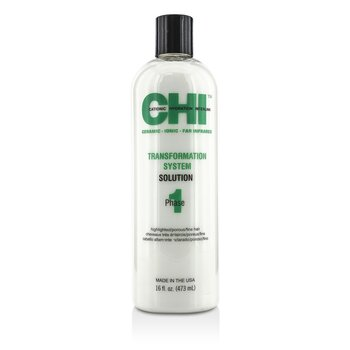 CHITransformation System Phase 1 - Solution Formula C (For Highlighted/Porous/Fine Hair) 473ml/16oz