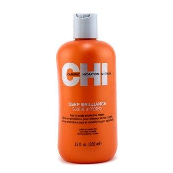 CHIDeep Brilliance Soothe & Protect Crema Protectora de Cabello & Cuero Cabelludo 350ml/12oz