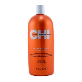 CHIDeep Brilliance Soothe & Protect Crema Protectora de Cabello & Cuero Cabelludo 950ml/32oz