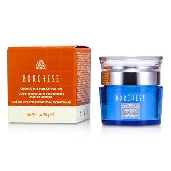Borghese Crema Ristorativo- 24 Continuous Hydration Moisturizer 28g/1oz