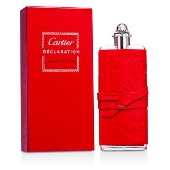 Cartier Declaration Eau De Toilette Spray (Leather Sheat/ Edition Prestige) 100ml/3.3oz