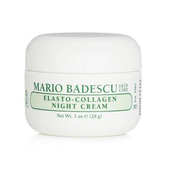 Mario Badescu Elasto-Collagen Night Cream - For Dry/ Sensitive Skin Types 29ml/1oz
