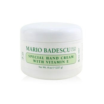 Mario Badescu Special Hand Cream with Vitamin E - For All Skin Types 236ml/8oz
