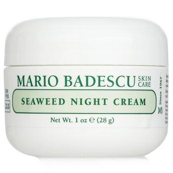 Mario Badescu Seaweed Night Cream – For Combination| Oily| Sensitive Skin Types 29ml|1oz