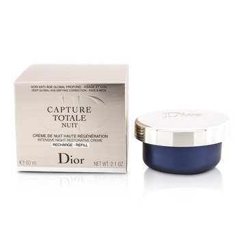Christian DiorCapture Totale Nuit Intensive Night Restorative Creme Refill F060750999 60ml/2.1oz
