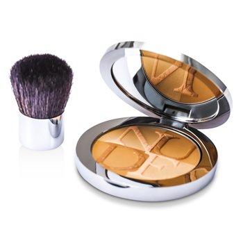 Christian Dior Diorskin Nude Tan Light Healthy Glow Enhancing Powder (With Kabuki Brush) - # 003 Zenith 10g/0.35oz