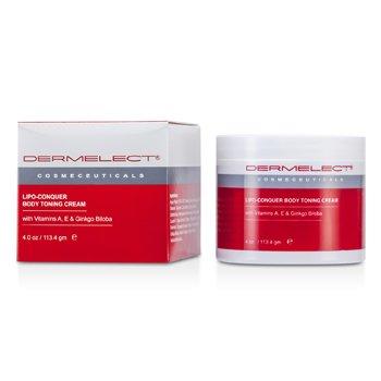 Dermelect Lipo-Conquer Body Toning Cream 113.4g/4oz