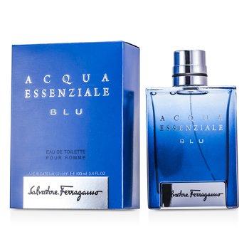Salvatore Ferragamo Acqua Essenziale Blu Eau De Toilette Spray  100ml/3.4oz