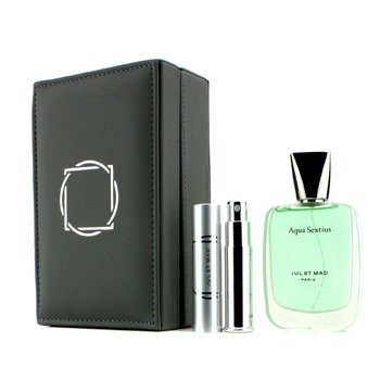 Jul Et Mad Aqua Sextius Extrait De Parfum Spray 50ml/1.7oz + Refillable Spray 7ml/0.24oz 2pcs
