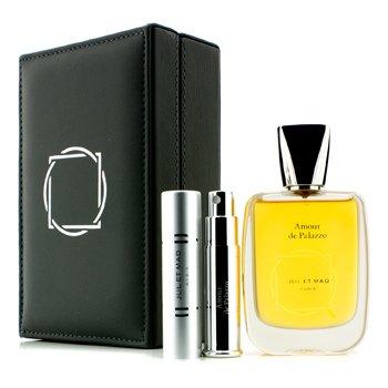 Jul Et Mad Amour De Palazzo Extrait De Parfum Spray 50ml/1.7oz + Refillable Spray 7ml/0.24oz 2pcs