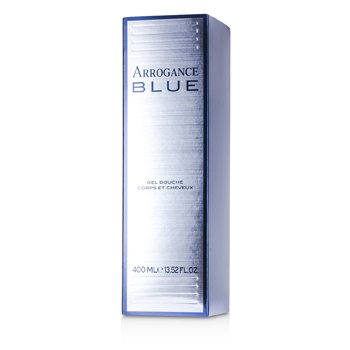 Arrogance Blue Hair & Body Shampoo 400ml/13.52oz