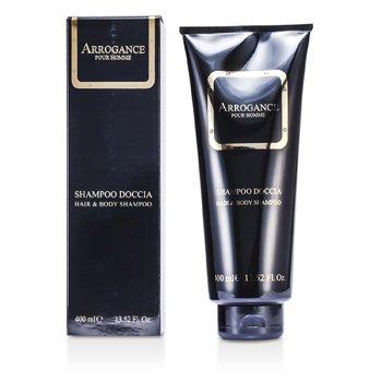 Arrogance Pour Homme Hair & Body Shampoo 400ml/13.52oz
