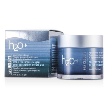H2O+Sea Results Deep Sleep Recovery Cream 50ml/1.7oz