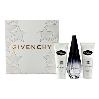 GivenchyAnge Ou Demon Coffret: Eau De Parfum Spray 50ml/1.7oz + Velo de Ba�o Sedoso 75ml/2.5oz + Gel de Ba�o Delicado 75ml/2.5oz 3pcs