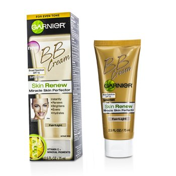 GarnierSkin Renew Miracle Skin Perfector BB Cream SPF 15 - #Fair/Light 75ml/2.5oz