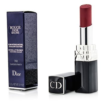 Christian Dior Rouge Dior Baume Natural Lip Treatment Couture Colour - # 760 Garden Party  3.2g/0.11oz