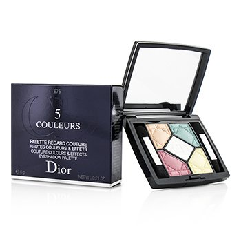 Christian Dior 5 Couleurs Couture Colours & Effects Paleta de Sombra de Ojos - No. 676 Candy Choc  6g/0.21oz