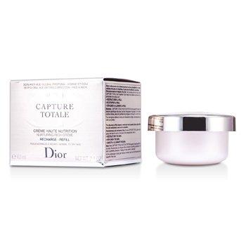 Christian DiorCreme Refil Capture Totale Haute Nutrition Nurturing Rich (Pele Normal � Seca) 60ml/2.1oz