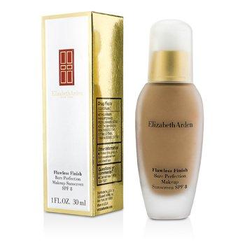 Elizabeth Arden Flawless Finish Bare Perfection MakeUp SPF8 - # 41 Mocha II (Box Slightly Damaged) 30ml/1oz