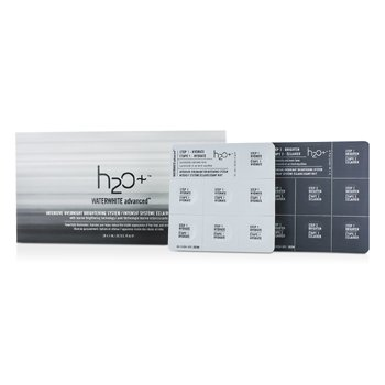 H2O+Waterwhite Advanced Intensive Overnight Brightening System 28x1ml/0.03oz
