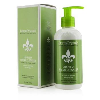 DermOrganic Soapless Facial Cleanser 250ml/8.5oz