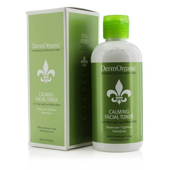 DermOrganic Calming Facial Toner 250ml/8.5oz
