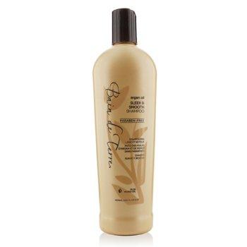 Bain De Terre Argan Oil Sleek & Smooth Shampoo (Tame Unruly Hair & Reduce Frizz) 400ml/13.5oz
