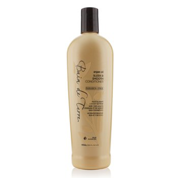 Bain De Terre Argan Oil Sleek & Smooth Conditioner (Tame Unruly Hair & Reduce Frizz) 400ml/13.5oz