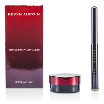 Kevyn AucoinThe Elegant Lip Gloss With Applicator - # Cloudaine (Baby Pink) 4g/0.14oz