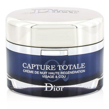 Christian Dior Capture Totale Nuit Crema de Noche Restauradora Intensiva (Recargable)  60ml/2.1oz