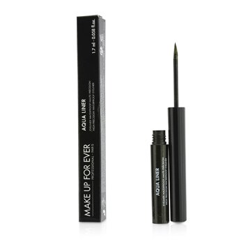 Make Up For EverAqua Liner High Precision Waterproof Eyeliner - # 2 (Diamond Black) 1.7ml/0.058oz