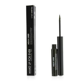 Aqua Liner High Precision Waterproof Eyeliner - # 2 (Diamond Black) Make Up For Ever Aqua Liner Высокоточная Водостойкая Подводка для Глаз - # 2 (Черный Алмаз)