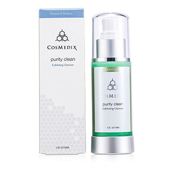 Purity Clean Exfoliating Cleanser (Unboxed) CosMedix Purity Clean Отшелушивающее Очищающее Средство (Без Коробки) 100ml/3.3oz
