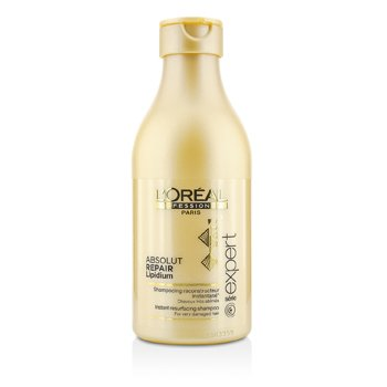 L'OrealProfessionnel Expert Serie - Shampoo Absolut Repair Lipidium Instant Resurfacing (Cabelo Danificado) 250ml/8.45oz