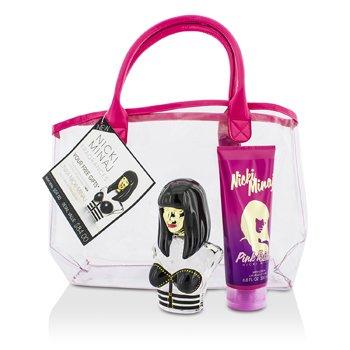 Nicki MinajOnika Coffret: Eau De Parfum Spray 100ml/3.4oz + Pink Friday Body Lotion 200ml/6.8oz + Bag 2pcs+bag