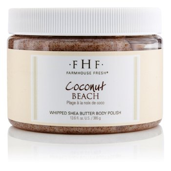Farmhouse Fresh Body Polish - Coconut Beach 385g/13.6oz