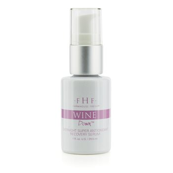 Farmhouse Fresh Wine Down Overnight Super Antioxidant Recovery Serum 29ml/1oz