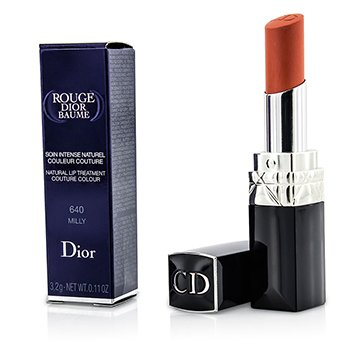 Christian Dior Rouge Dior Baume Color Tratamiento Natural de Labios - # 640 Milly  3.2g/0.11oz