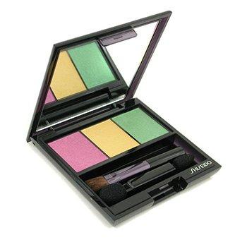 Shiseido Tr�o Color de Ojos Satinados Iluminadores - # YE406 Tropicalia  3g/0.1oz