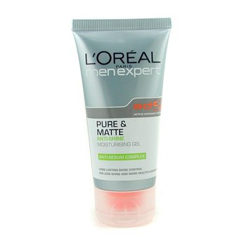 L'Oreal Men Expert Pure & Matte Anti-Shine Hydrating Gel  50ml/1.6oz