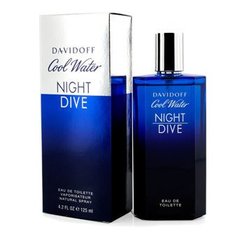 DavidoffCool Water Night Dive Eau De Toilette Spray 125ml/4.2oz