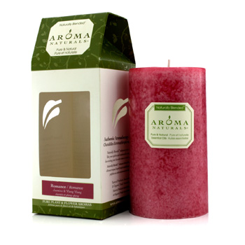 Aroma Naturals Authentic Aromatherapy Candles - Romance (Jasmine & Ylang Ylang) (2.75x5) inch