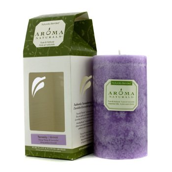 Authentic Aromatherapy Candles - Serenity (Ylang Ylang & Lavender) Aroma Naturals Authentic Aromatherapy Candles - Serenity (Ylang Ylang & Lavender) (2.75x5) in