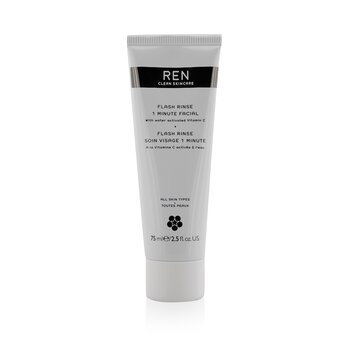 RenFlash Rinse 1 Minute Facial 75ml/2.5oz