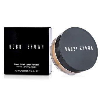 Bobbi Brown Sheer Finish Loose Powder - Bedak Bubuk - # 04 Basic Brown (Kemasan Baru)  6g/0.21oz